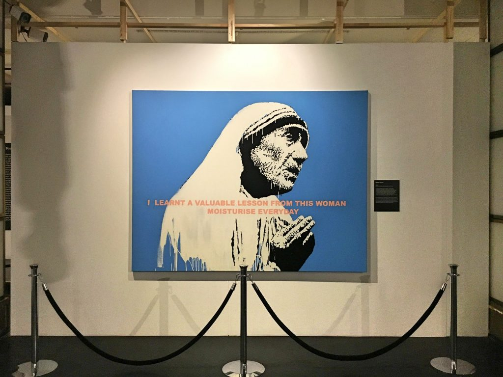 Banksy Mother Theresa