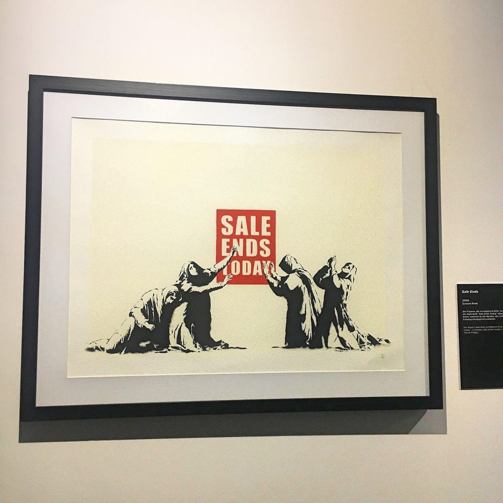 Banksy Sale Ends