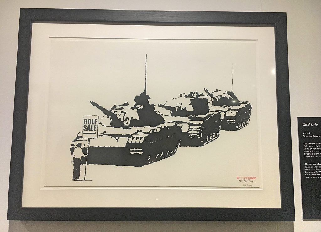 Banksy Golf Sale